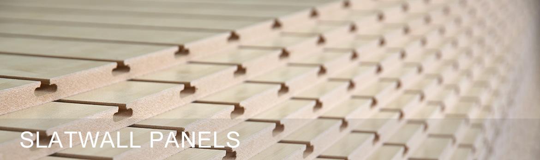 Slatwall Panels 2400mm x 1200mm