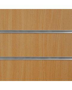 Beech Slatwall Panels 2400mm High x 1200mm Wide (portrait)