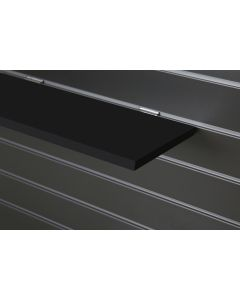 Black Slatwall Shelf