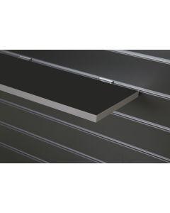 Graphite Slatwall Shelf