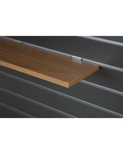 Oak Slatwall Shelf
