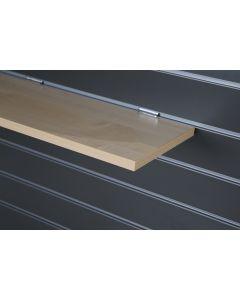 Maple Slatwall Shelf