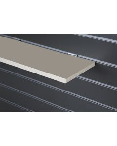 Cream Slatwall Shelf