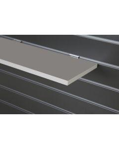 Grey Slatwall Shelf