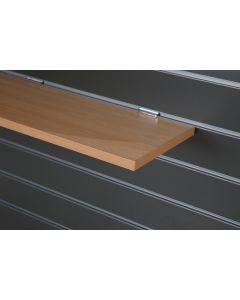 Beech Slatwall Shelf