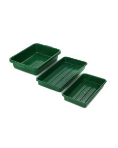 Green Vegetable Trays