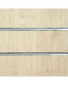 Maple Slatwall Panels 2400mm High x 1200mm Wide (portrait)