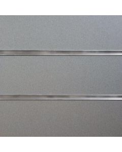 2 x Pewter Slatwall Panels 1200mm High X 1200mm Wide (portrait)