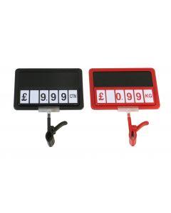 Black Board Price Sign