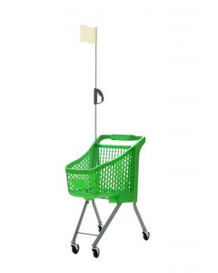 Green Child Sized Shopping Trolley