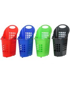 75L Push and Pull Shopping Baskets
