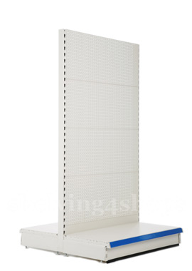 Peg Board Gondola Shelving